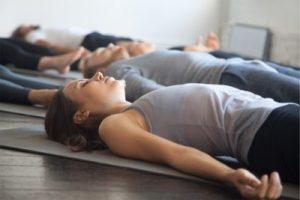 meditation allongee